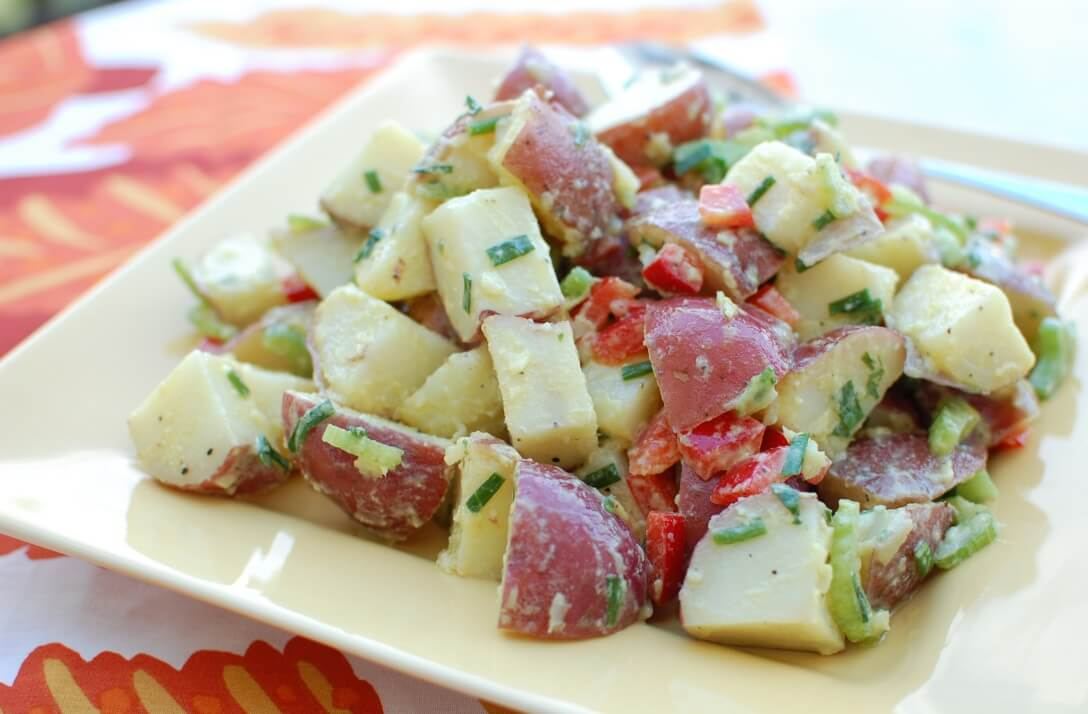 Dishes by Doe | RECIPE ALERT: Red New Potato Salad with ...